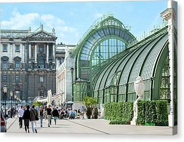 Europe, Austria, Vienna, Hofburg Canvas Print by Jim Engelbrecht