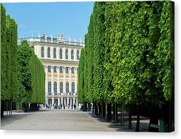 Europe, Austria, Vienna, Schonbrunn Canvas Print by Jim Engelbrecht