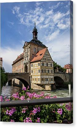 Europe, Germany, Bamberg, Altes Canvas Print by Jim Engelbrecht