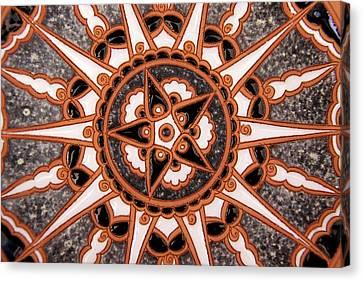 Ceramics Canvas Print - Europe, Greece, Rhodes by Kymri Wilt