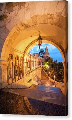 Europe, Hungary, Budapest, Buda Canvas Print