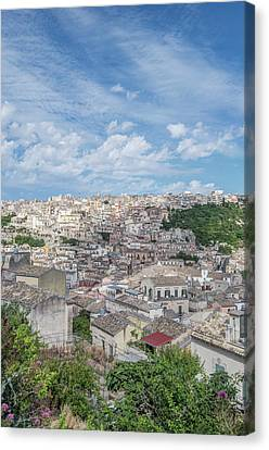 Europe, Italy, Sicily, Ragusa, View Canvas Print