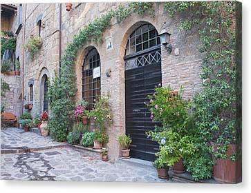 Europe, Italy, Umbria, Civita Canvas Print