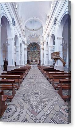 Europe, Italy, Umbria, Spoleto, Duomo Canvas Print