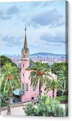 Europe, Spain, Catalonia, Barcelona Canvas Print by Rob Tilley