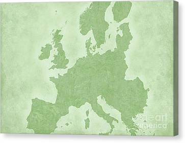 Europe Canvas Print by Tina M Wenger