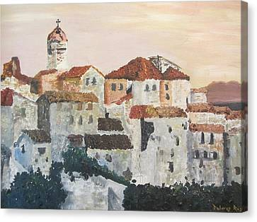 European Holiday Canvas Print