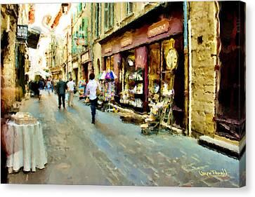 Euroscape - 5 Canvas Print by Wayne Pascall