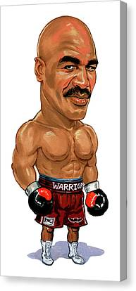 Evander Holyfield Canvas Print by Art
