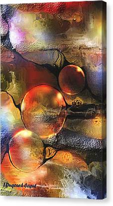 Evanescence Canvas Print by Francoise Dugourd-Caput