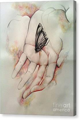 Eve I Canvas Print