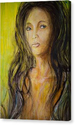 Eve Portrait  Canvas Print by Nik Helbig