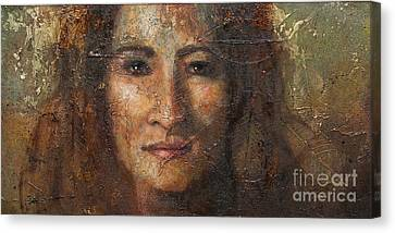 Eve Canvas Print by Sandra Quintus