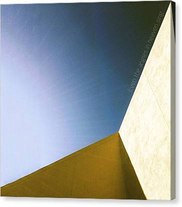 Canvas Print featuring the photograph Even The Angles Sing by Kevin Bergen