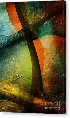 Canvas Print featuring the mixed media Even The Winds And Waves Obey Him by Shevon Johnson