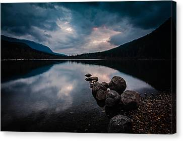 Evening Approaches Canvas Print by Brian Xavier