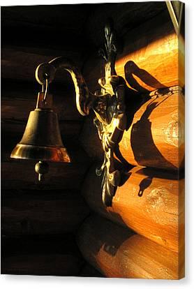 Evening Bell Canvas Print by Leena Pekkalainen