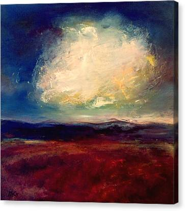 Evening Cloud Canvas Print