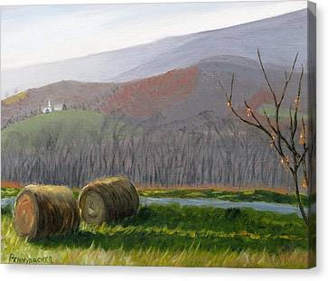 Evening Comes To Penns Valley Canvas Print