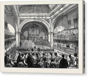Evening Concert At The Philharmonic Hall Canvas Print