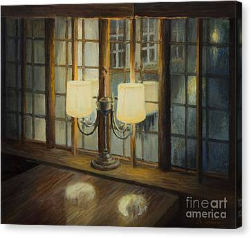 Evening For Two Canvas Print by Kiril Stanchev