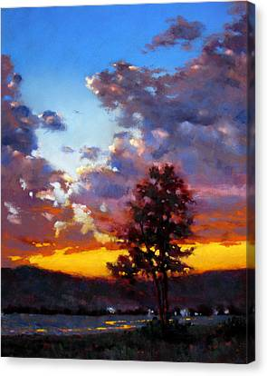 Canvas Print - Evening In The Valley by Dianna Ponting
