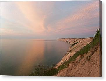 Evening Light On Grand Sable Banks Canvas Print