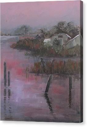 Evening Light Canvas Print by Susan Richardson