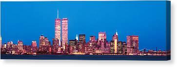 Evening Lower Manhattan New York Ny Canvas Print