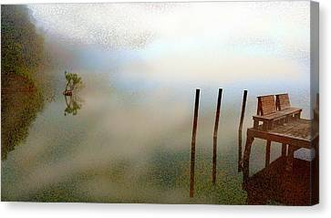 Evening Canvas Print by Eye Browses