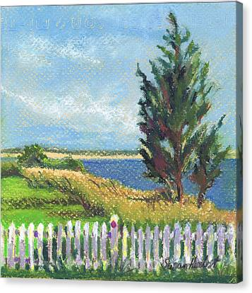 Evening Orient And Peconic Bay Canvas Print