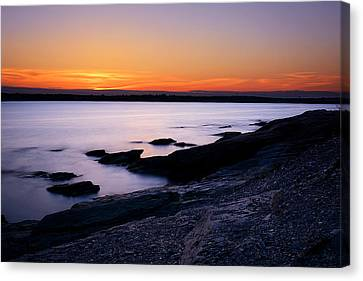 Evening Repose Canvas Print by Lourry Legarde