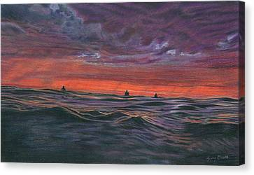 Evening Session Canvas Print by Jimmy Graves