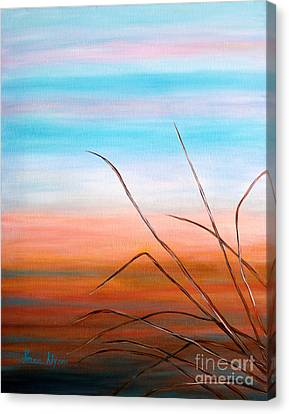 Evening Sky. Soul Collection Canvas Print