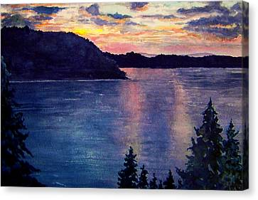 Evening Song Canvas Print by Brenda Owen