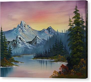 Evening Splendor Canvas Print by C Steele