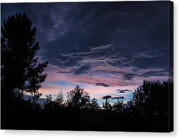 Evening Storm Canvas Print