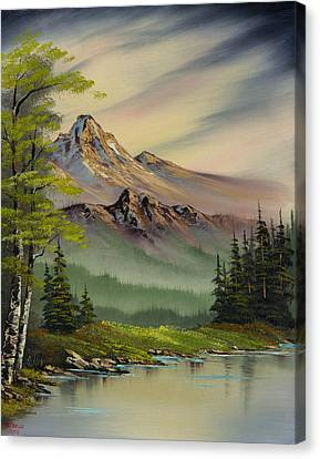 Evenings Peace Canvas Print by C Steele