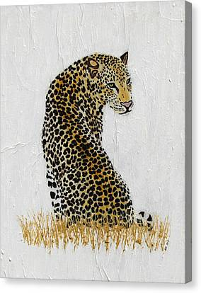 Canvas Print featuring the painting Ever Watchful by Stephanie Grant