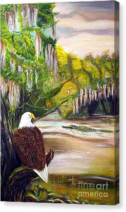 Tolan Canvas Print - Everglades 1 by To-Tam Gerwe