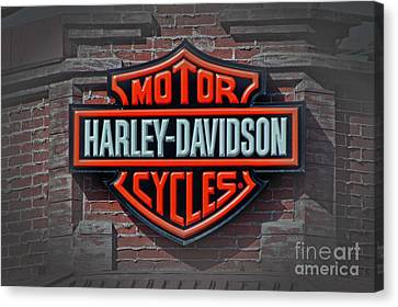 Every Bikers Love Canvas Print by Arnie Goldstein