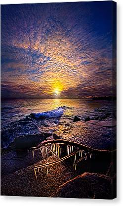 Every Day Is A Gift Not A Given Canvas Print by Phil Koch