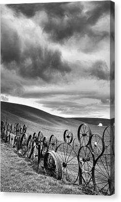 Every Wheel Has A Story Canvas Print by Ryan Manuel
