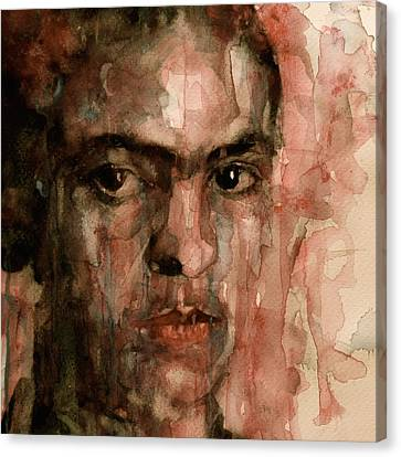 Self-portrait Canvas Print - Everybody Hurts by Paul Lovering