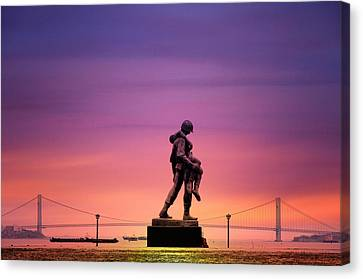 Everyday Is Memorial Day Canvas Print by Bill Cannon