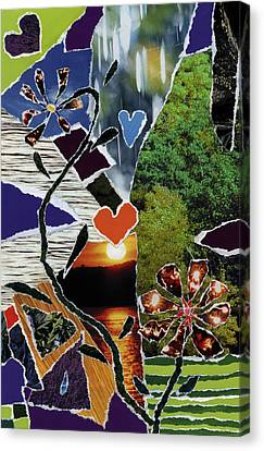 Everyone Love's Their Nature Canvas Print by Kenneth James