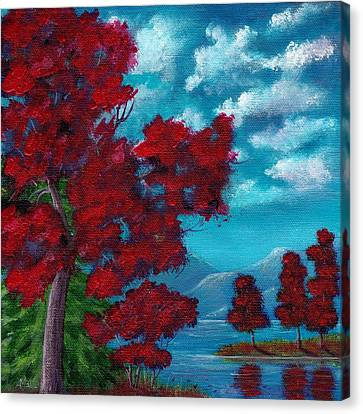 Everything Autumn Canvas Print by Anastasiya Malakhova