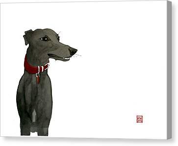 Evie Canvas Print by Richard Williamson