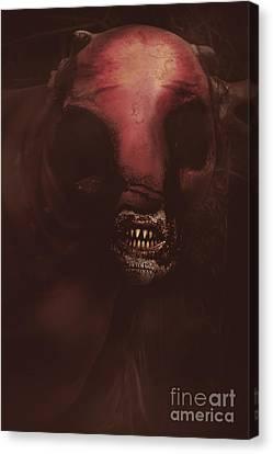 Evil Greek Mythology Minotaur Canvas Print by Jorgo Photography - Wall Art Gallery