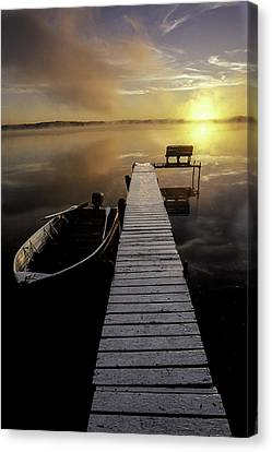 Evinrude And Lund Canvas Print